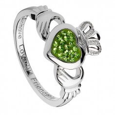 Saint Patrick's Day Claddagh Ring
