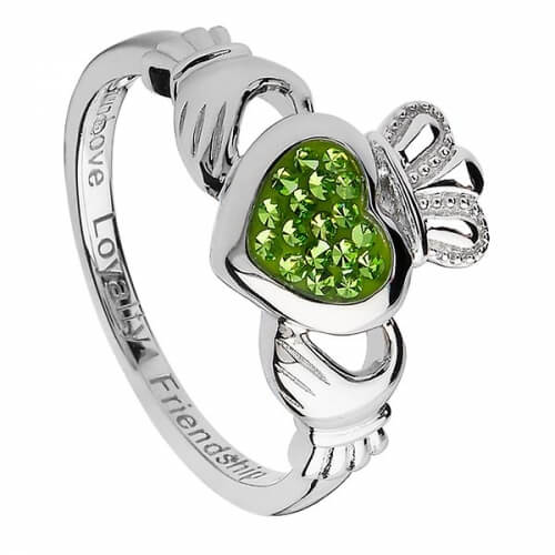 St. Patrick Tag Claddagh Ring