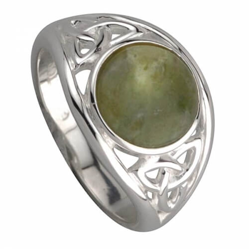 Keltischer Brüderlichkeits Ring - Silber