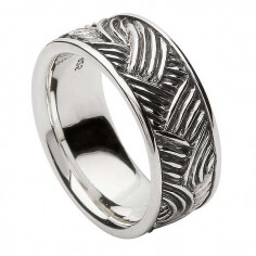 Unisex Celtic Weave Ring