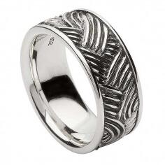 Unisex Keltischer Webart Ring