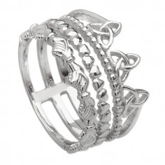 Trinity Knot Friendship Ring