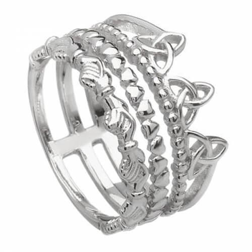 Trinity Knot Friendship Ring