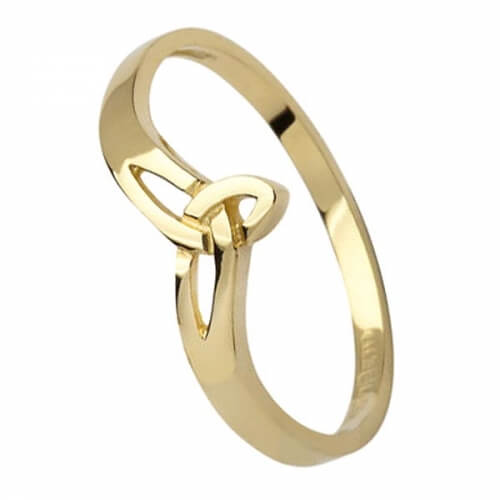 Petit Trinity knot Ring