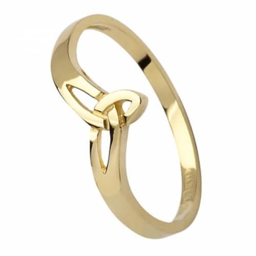 Kleiner Dreifaltigkeitsknoten Ring