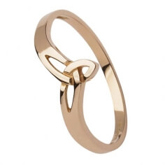 Roségold Trinity Knot Ring
