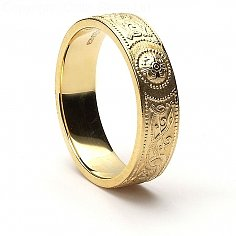 Celtic Warrior Ring - Yellow Gold