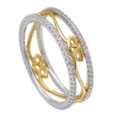 Love Knot Eternity Ring