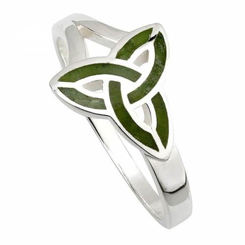 Marmor Trinity Knoten Ring