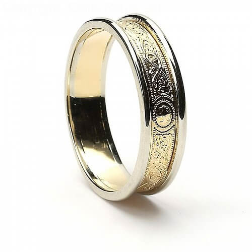 5mm Celtic Warrior Ring with Trim
