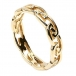 Womens Eternal Celtic Knot Ring - Gold