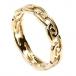 Damen Ewiger keltischer Knoten Ring - Gold