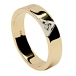 Unisex Trinity Knot Ring - Gold