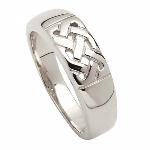 Traditioneller keltischer Knotenring - Silber