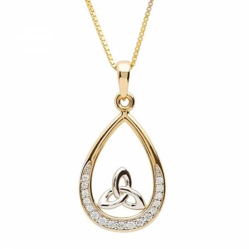 Stein Set Trinity Halskette