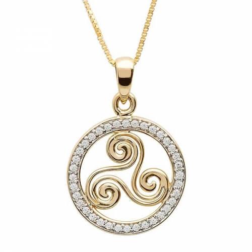 Collier Spirale Newgrange