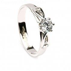 Celtic Diamant-Verlobungsring