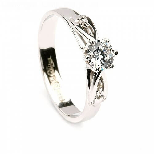 Anniversary Rings Diamond: Celtic Diamond Engagement Ring Celtic ...