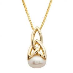 Perle Trinity Halskette