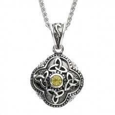 Keltische Tribal Trinity Halskette