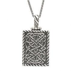 Celtic Knot Ingot Pendant