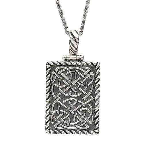 Pendentif en lingot avec noeud celtique