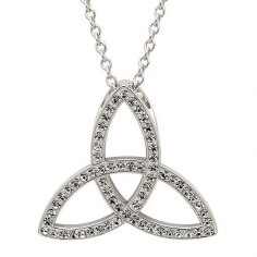 Swarovski Trinity Knot Anhänger