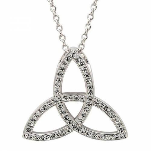 Swarovski Trinity Knot Pendant