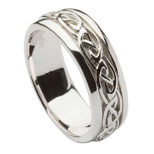 Men's Silver Celtic Knot Ring