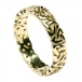 Men's Trinity Knot Wedding Ring - Yellow Gold