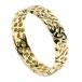 Femmes anneau de mariage noeud trinité - Or jaune