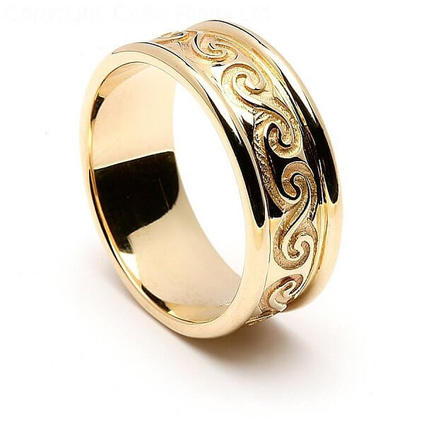 dearbhail celtic wedding ring dearbhail celtic wedding ring - Irish Wedding Ring