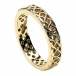 Women's Pierced Celtic Knot Ring - Yellow Gold