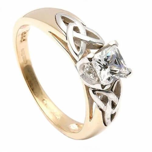 Prinzessin Diamant Verlobungsring