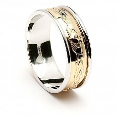 Muiread Claddagh Wedding Ring