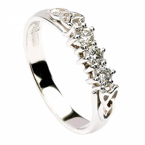 Trinity 3 Stone Engagement Ring