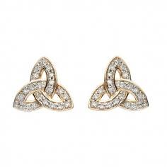 Dormeuses incrustées de diamants