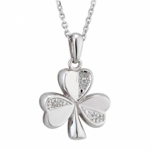 Diamond Shamrock Necklace