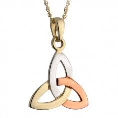 Dreifarbiger Trinität Knoten Anhänger