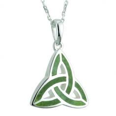 Connemara Marble Trinity Pendant