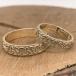 Women's Embossed Trinity Knot Wedding Ring - Yellow Gold