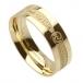 Men's Irish Promise Ring - Yellow Gold