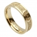 Women's Barbed Wire Wedding Ring - Yellow Gold