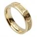 Damen Stacheldraht Ehering - Gelbes Gold