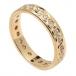 Men's Eternity Diamond Wedding Ring - Yellow Gold
