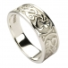 Womens Celtic Knot Ring - Silver