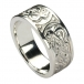 Mens Celtic Knot Ring - Silver