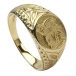 Celtic Lion Ring - Yellow Gold