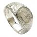 Keltischer Löwenring - Silber oder Weißgold