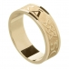 Men's Irish Forever Love Ring - Yellow Gold